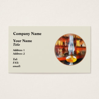 Customize ProductHurricane Lamp in General Store Business Card
