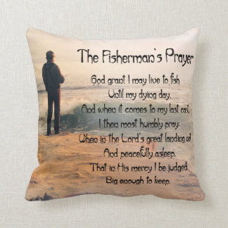Customize ProductThe Fishermans Prayer Pillows