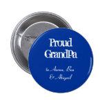 Customize!  Proud Grandpa Pin