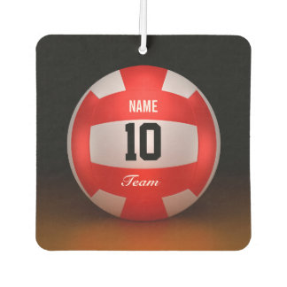 Customize Red Volleyball