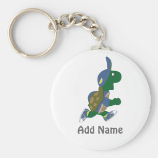 Customize Running Turtle Keychain