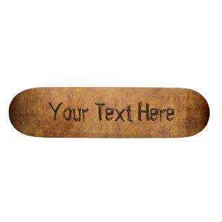 Customize Skateboard with Your Text or Delete it