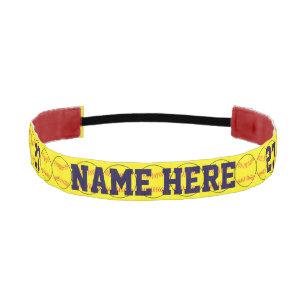 Customize Softball Headband