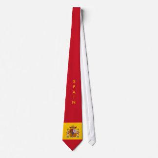 Customize Spain Flag Tie