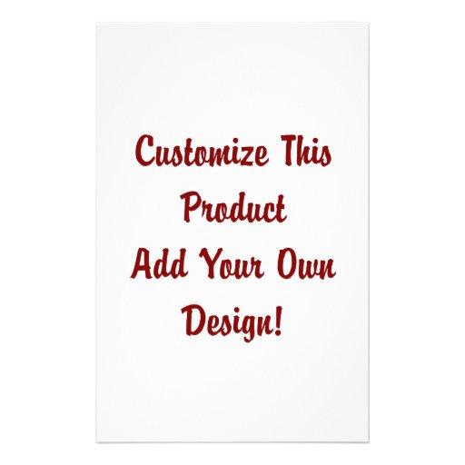 Customize - Stationery