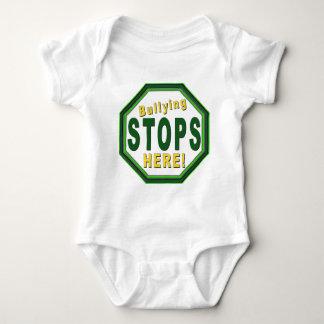 Customize Stop Bullying NOw Baby Bodysuit