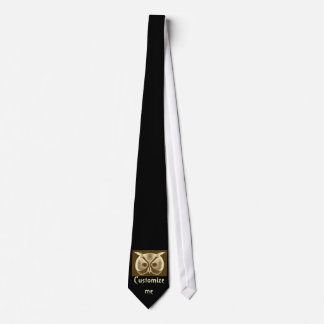 Customize Tan Owl Tie