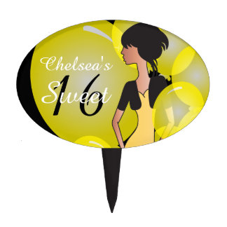 Customize Template for a Birthday or Bachelorette Cake Pick