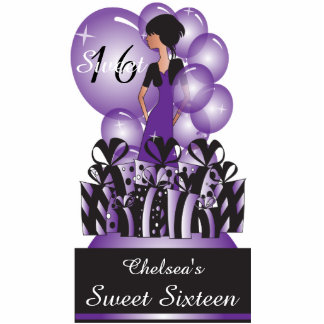 Customize Template for a Birthday or Bachelorette Standing Photo Sculpture