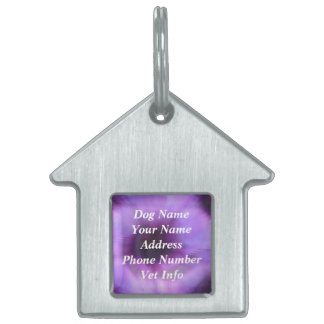 Customize Template House or Bone Pet Tag