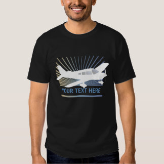 Customize Text - Low Wing Airplane Shirt