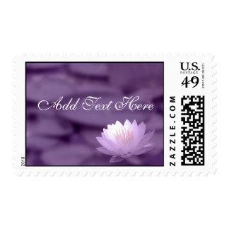 Customize Text  Wedding Postage Stamp