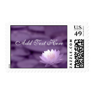 Customize Text  Wedding Postage Stamp