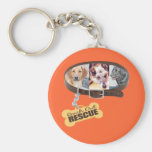 Customize the Background Color! Logo Key Chain