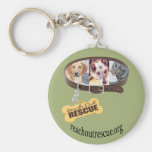 Customize the Background Color! Logo URL Key Chain