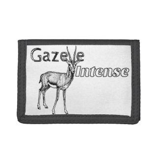 Customize the Color! Gazelle Intense Motivational Tri-fold Wallet