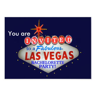 Customize the Las Vegas Welcome Sign Card