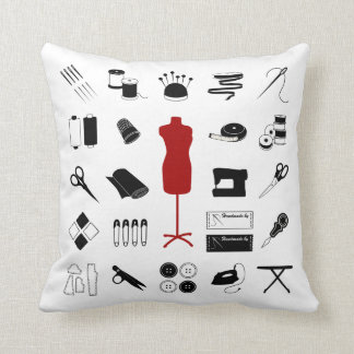 Customize the Text Sew Right Pillow
