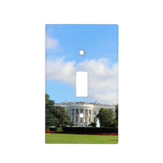 Customize The White House Photo Light Switch Cover