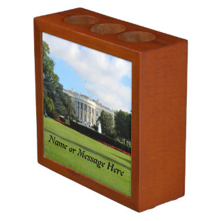 Customize The White House Photo Pencil/Pen Holder