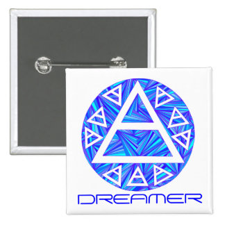 Customize This Air Sign Triad New Age Button Badge