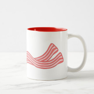 Customize this Bacon Rashers graphic Two-Tone Coffee Mug