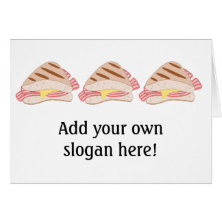 Customize this Bacon Sandwich graphic Card