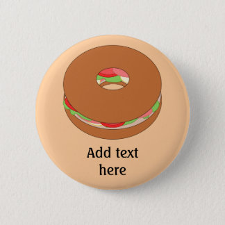 Customize this Bagel graphic Button
