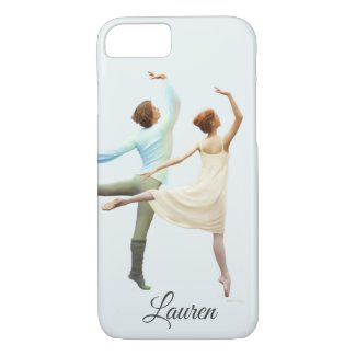 Customize this Ballet Dancers Painting iphone case