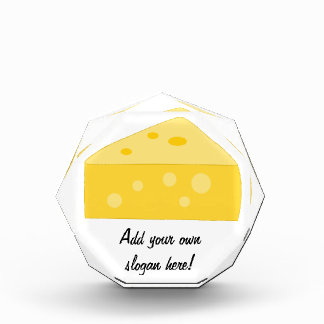 Customize this Big Cheese graphic Acrylic Award