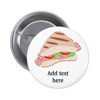 Customize this BLT Sandwich Graphic Button