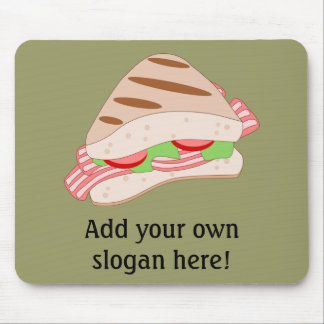 Customize this BLT Sandwich Graphic Mouse Pad
