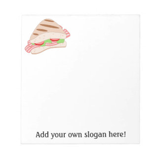 Customize this BLT Sandwich Graphic Notepad