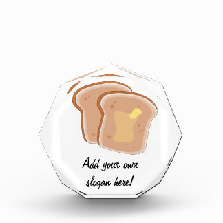 Customize this Buttered Toast graphic Award