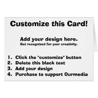 Customize this Card! Card