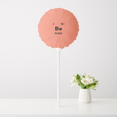 Customize this Chemistry Element Balloon