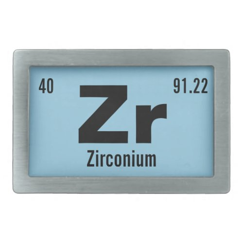 Customize this Chemistry Element Belt Buckle