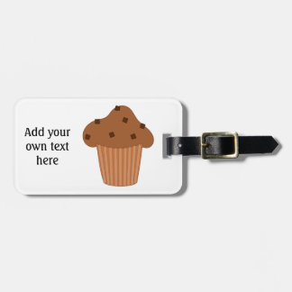 Customize this Choc Chip Muffin graphic Luggage Tag
