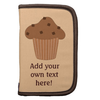 Customize this Choc Chip Muffin graphic Folio Planners
