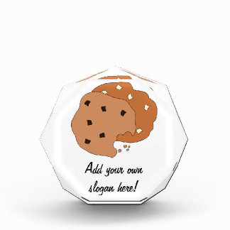 Customize this Cookies graphic Acrylic Award