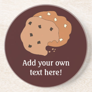 Customize this Cookies graphic Coaster