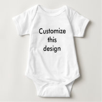Customize This Design Baby Bodysuit
