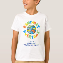 Customize This Earth Day Environmental T-Shirt