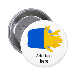 Customize this French Fries graphic Button