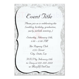 """Customize this Gift 3.5"""" X 5"""" Invitation Card"""