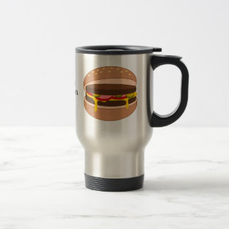 Customize this Hamburger graphic Travel Mug