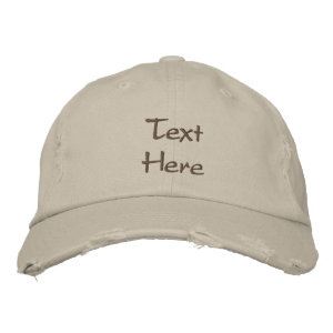 Customize This Hat Embroidered Hats