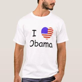 Customize this I Love Obama T-Shirt