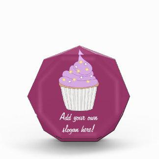 Customize this Lilac Cupcake graphic Award