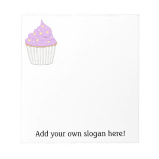 Customize this Lilac Cupcake graphic Memo Note Pads